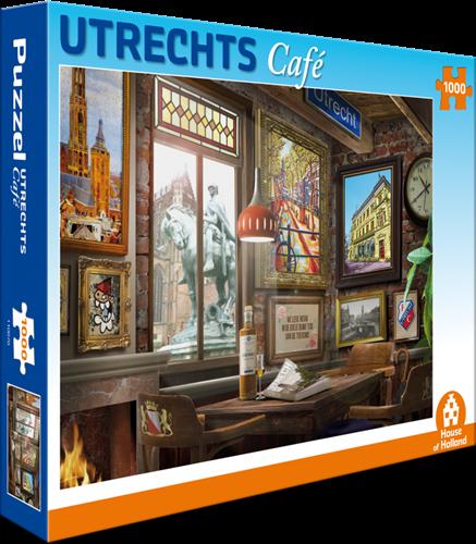 Utrechts Café Puzzel (1000 stukjes)