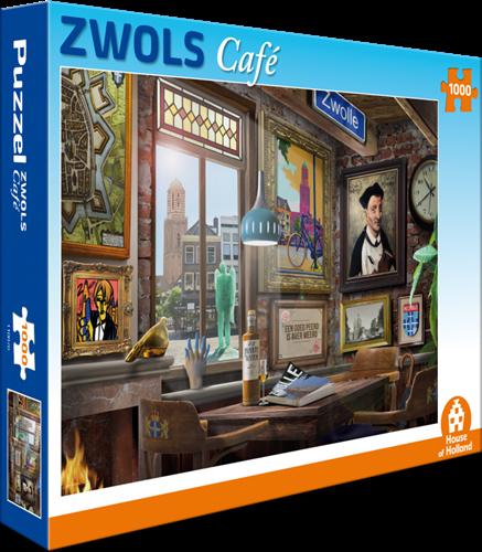 Zwols Café Puzzel (1000 stukjes)