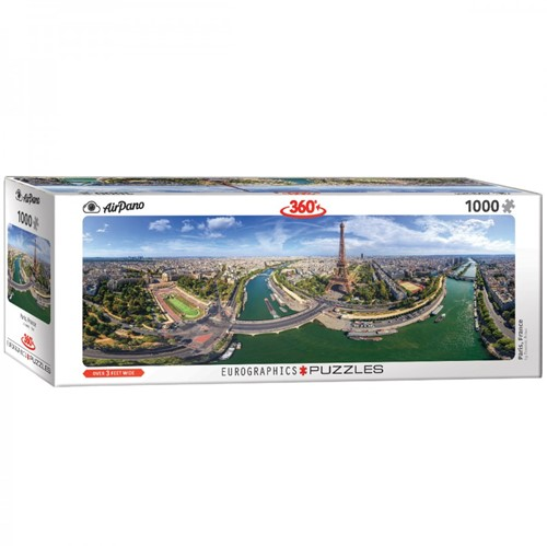 Paris France Panorama Puzzel (1000 stukjes)