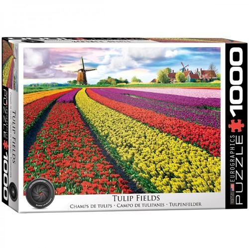 Tulip Fields Netherlands Puzzel (1000 stukjes)