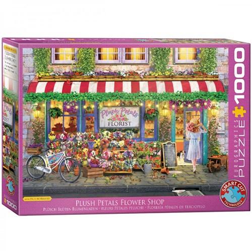 Plush Petals Florist Shop Puzzel (1000 stukjes)
