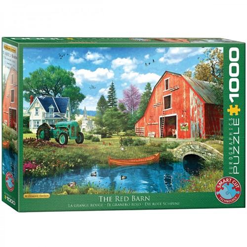 The Red Barn - Dominic Davison Puzzel (1000 stukjes)