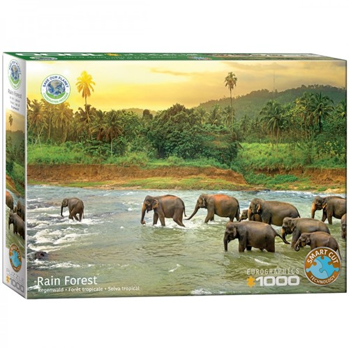 Save the Planet! - Rain Forest Puzzel (1000 stukjes)