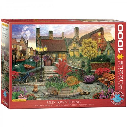 Old Town Living - Dominic Davison Puzzel (1000 stukjes)