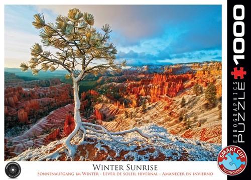 Winter Sunrise Puzzel (1000 stukjes)