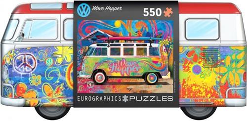 VW Bus Wave Hopper - Tin Box Puzzel (550 stukjes)