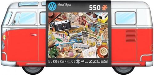 VW Road Trips - Tin Box (550 stukjes)
