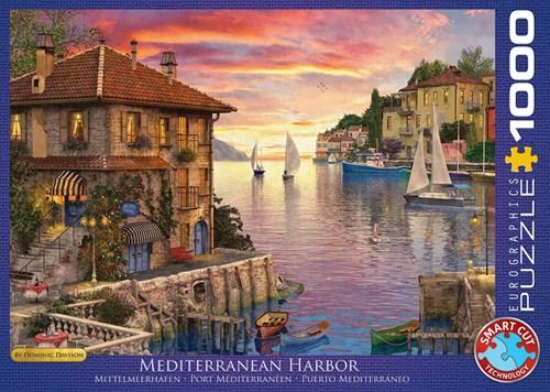 Mediterranean Harbor Puzzel (1000 stukjes)