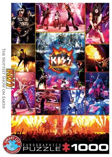 KISS The Hottest Show on Earth Puzzel (1000 stukjes)