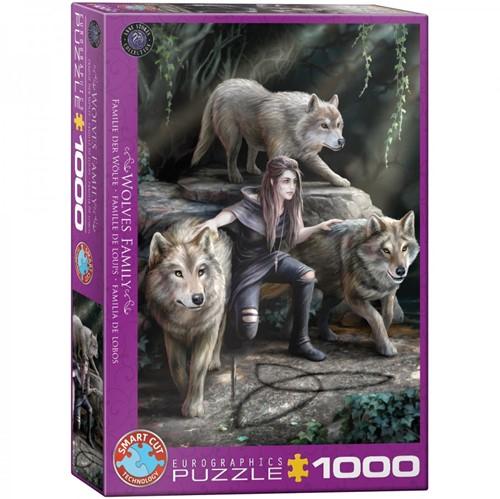 Wolves Family Puzzel (1000 stukjes)