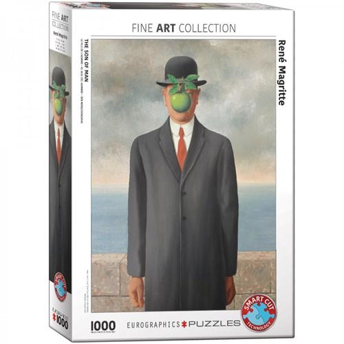 The Son of Man - Rene Magritte Puzzel (1000 stukjes)