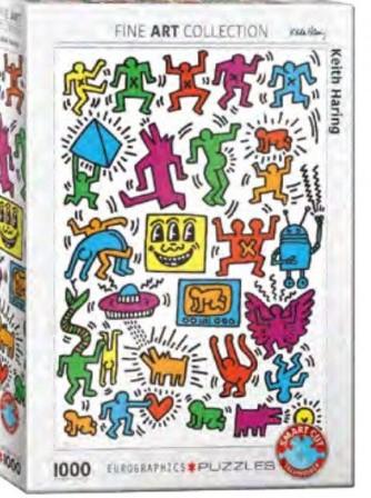 Collage - Keith Haring Puzzel (1000 stukjes)