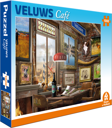 Veluws Café Puzzel (1000 stukjes)