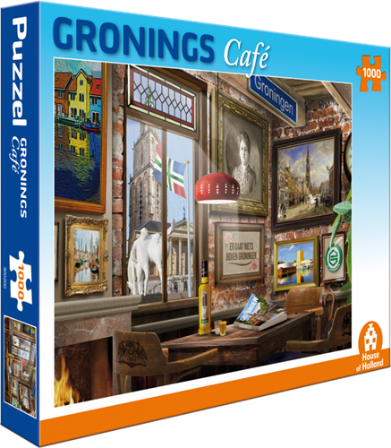 Gronings Café Puzzel (1000 stukjes)