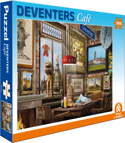 Deventers Café Puzzel (1000 stukjes)