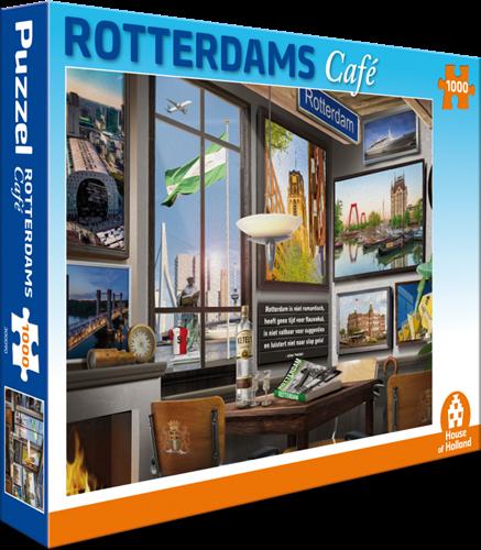 Rotterdams Café Puzzel (1000 stukjes)