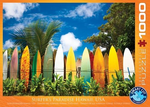 Surfer's Paradise Hawaii Puzzel (1000 stukjes)