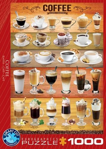 Coffee Puzzel (1000 stukjes)