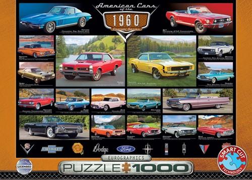 American Cars of the 1960s Puzzel (1000 stukjes)