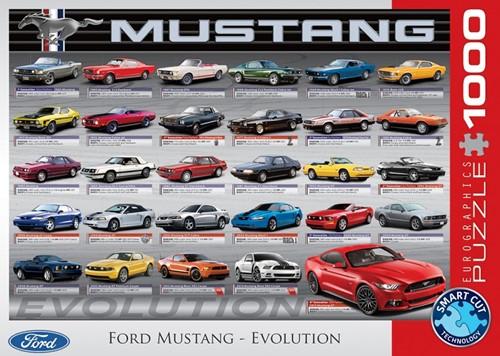 Ford Mustang Evolution Puzzel (1000 stukjes)