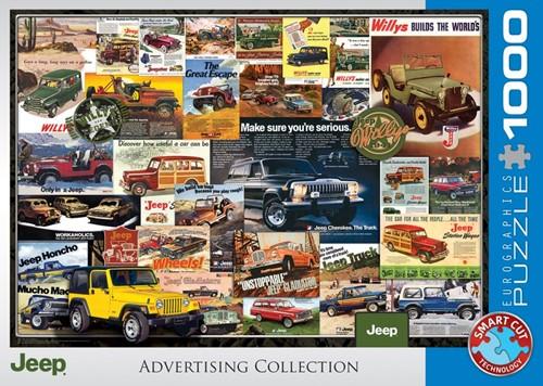 Jeep Advertising Collection Puzzel (1000 stukjes)