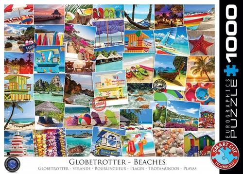 Globetrotter Beaches Puzzel (1000 stukjes)