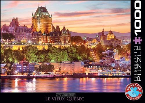 Le Vieux Quebec Puzzel (1000 stukjes)
