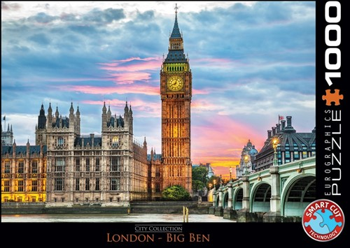 London Big Ben Puzzel (1000 stukjes)