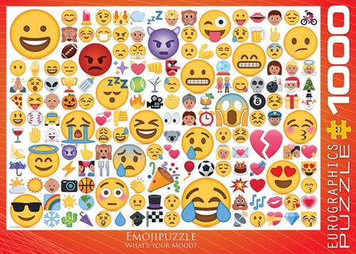 Emoji - What's your Mood? Puzzel (1000 stukjes)