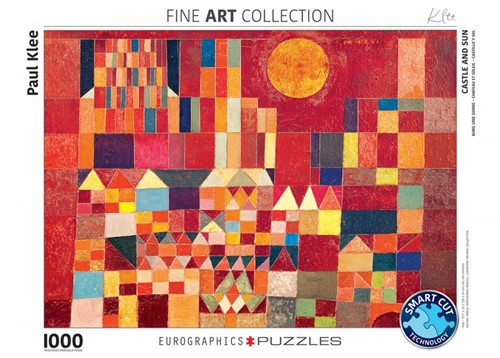 Castle and Sun - Paul Klee Puzzel (1000 stukjes)