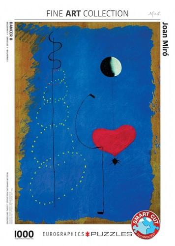 Dancer II - Joan Miro Puzzel (1000 stukjes)