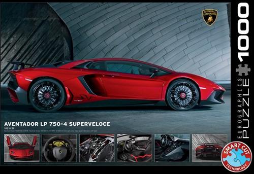 Lamborghini Aventador SV Puzzel (1000 stukjes)