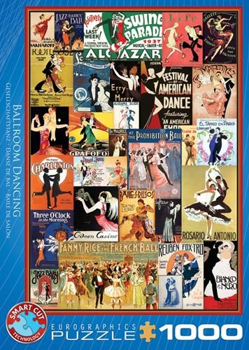 Ballroom Dancing Puzzel (1000 stukjes)