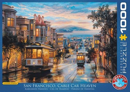 San Francisco Cable Car Heaven Puzzel (1000 stukjes)