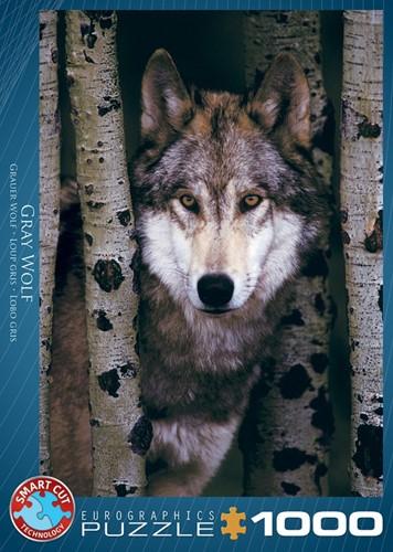 Gray Wolf Puzzel (1000 stukjes)