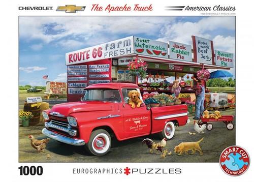 1959 Chevrolet Apache - Greg Giordano Puzzel (1000 stukjes)