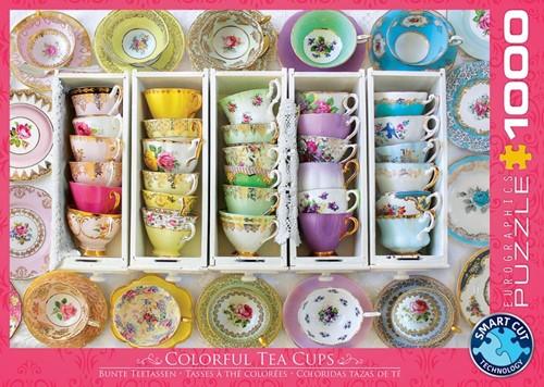 Tea Cups Boxes Puzzel (1000 stukjes)