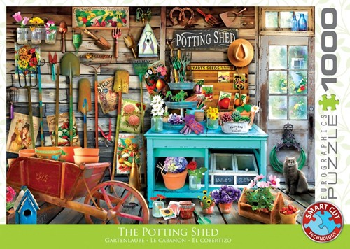 The Potting Shed Puzzel (1000 stukjes)