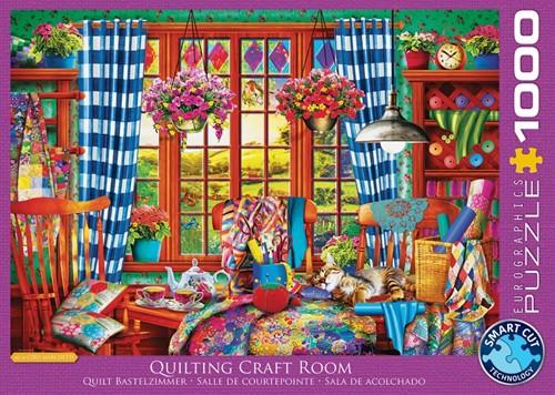 Patchwork Craft Room Puzzel (1000 stukjes)