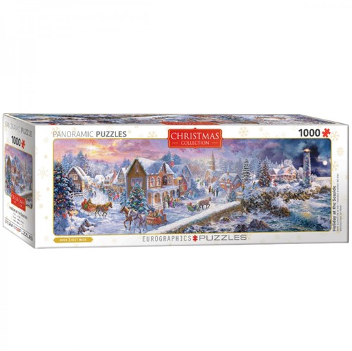 Holiday at the Seaside Panorama Puzzel (1000 stukjes)
