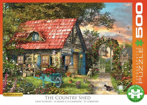 The Country Shed Puzzel (500 XL stukjes)