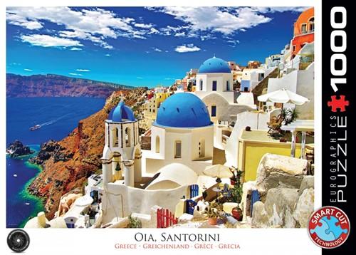 Oia Santorini Greece Puzzel (1000 stukjes)