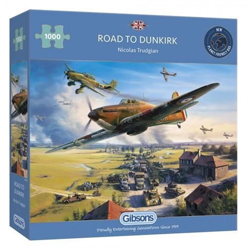 Road to Dunkirk Puzzel (1000 stukjes)
