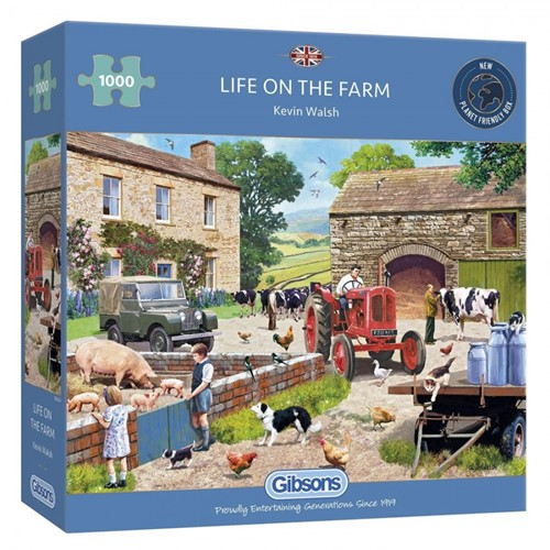 Life on the Farm Puzzel (1000 stukjes)
