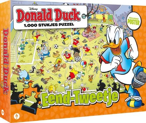 Donald Duck 4 - Eend-Tweetje Puzzel (1000 stukjes)
