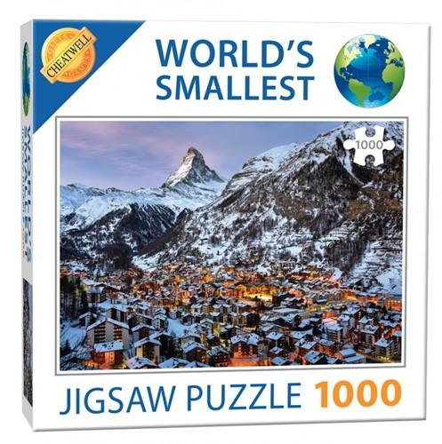 World's Smallest - Matterhorn Puzzel (1000 stukjes)