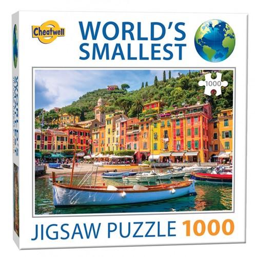 World's Smallest - Portofino Puzzel (1000 stukjes)