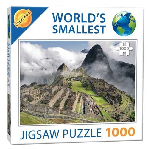 World's Smallest - Machu Puzzel (1000 stukjes)