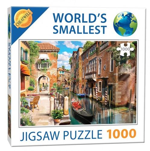 World's Smallest - Canals Puzzel (1000 stukjes)