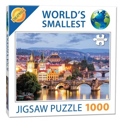 World's Smallest - Prague Bridges Puzzel (1000 stukjes)